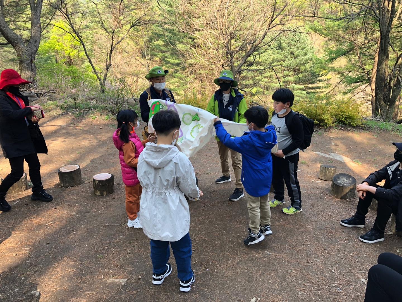 숲놀이, 백운산자연휴양림 숲해설&숲속체험